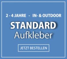 2-4 Jahre - In- & Outdoor - Standard-Aufkleber